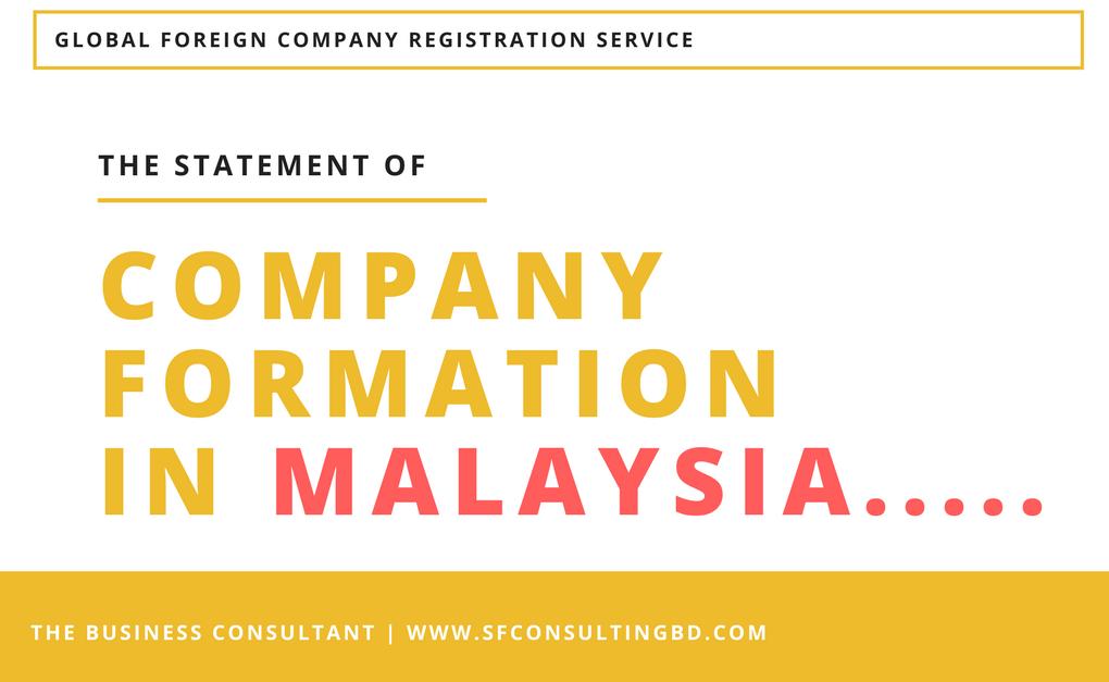Company formation Malaysia
