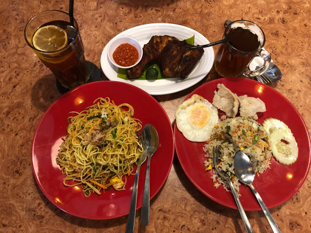 Regular food in Malaysia, Goring